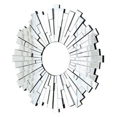 London Round Wall Mirror by Abbyson ** You can get additional details at the image link. (This is an affiliate link) #Mirrors