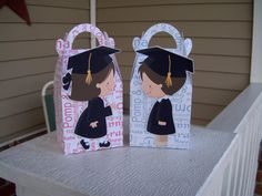 Girls  and Boys Graduation Gable Boxes Set of 12 by zbrown5, $14.40