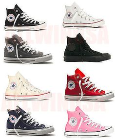 8356a99d01335d CONVERSE Chuck Taylor All Star High Top Shoes Canvas Brand New Canvas  Sneakers