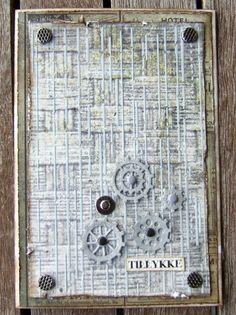 Ravn Design: Kort med sko og maskuline kort