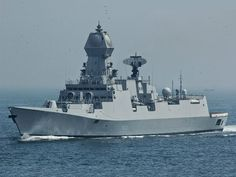 The Kolkata class of stealthy guided missile destroyers is a sucessor to the Delhi class. It is in service with the Indian Navy. The lead ship, INS Kolkata, was commissioned with the Indian Navy in Indian Navy, Armada, Navy Ships, Kochi, Military Army, Foreign Policy, Submarines, Aircraft Carrier, Hale Navy