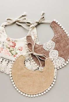 Shop The Sweetest Handmade Baby Bibs at BillyBibs on Etsy - The latest in Bohemian Fashion! These literally go viral!
