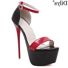 34.19$  Buy here - https://alitems.com/g/1e8d114494b01f4c715516525dc3e8/?i=5&ulp=https%3A%2F%2Fwww.aliexpress.com%2Fitem%2FSexy-Fashion-New-16CM-High-Heels-Sandals-6CM-Platform-Shoes-Catwalk-Shows-Women-Shoes-Nightclub-Evening%2F32638773250.html - Sexy Fashion New 16CM High Heels Sandals 6CM Platform Shoes Catwalk Shows Women Shoes Nightclub Evening Party Cut-outs Tacones