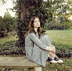 Mia Wasikowska as India Stoker (Stoker) New Outfits, Fall Outfits, Mia Wasikowska, Film Inspiration, Character Inspiration, Saddle Shoes, Grey Fashion, Costume Design, Well Dressed