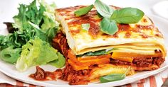 Load up on veggies with this delicious beef lasagne, layered with pumpkin, zucchini and creamy bechamel sauce.