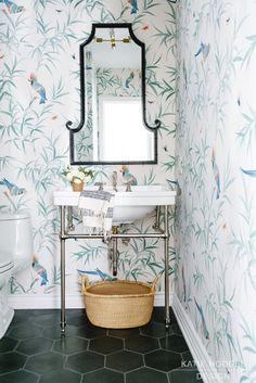 Santa-monica-powder-room designed by Katie Hodges