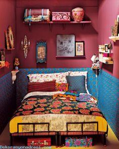 cool Özgün Yatak Odası Tasarımı 2016