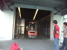 Automatic Door สำหรับรถโฟคลิฟท์เข้าออก 02-8145897-8