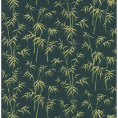 Shop for Brewster Vintage Green Bamboo Wallpaper. Get free delivery On EVERYTHING* Overstock - Your Online Home Improvement Destination! Vintage Room, Vintage Green, Bamboo Leaves, Plant Leaves, Bamboo Wallpaper, Central America, Green Colors, Airplane View, Home And Garden