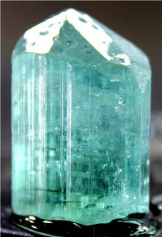 58.5 cts Top Quality Paraiba Color TOURMALINE Crystal with Good Clarity & Luster