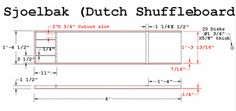 Sjoelbak - Dutch Shuffleboard