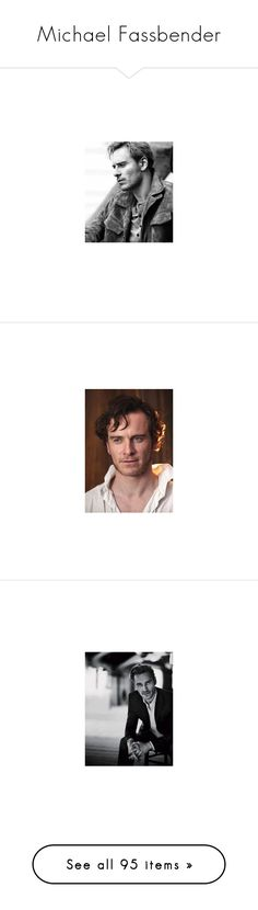 """""""Michael Fassbender"""" by decoder13 ❤ liked on Polyvore featuring michael fassbender, men, people, actors, faces, fassbender, saul, male, marvel and pictures"""