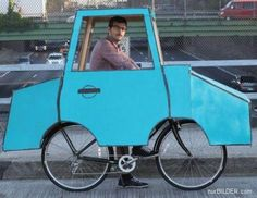 When a bicycle becomes a car