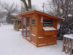 Wichita Cabin Coop - BackYard Chickens Community - Awesome DIY coop with good tips