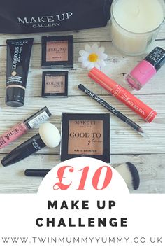 I've created a summer look using Make Up Gallery Make Up. Find out my thoughts.