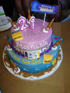 Funny I found this because my sisters name is Stephanie; turning 21 this week and I'm making a cake :p