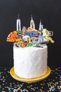 New York Cake Topper - The House That Lars Built