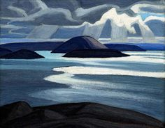 Exhibition: 'Painting Canada: Tom Thomson and the Group of Seven' at the Dulwich Picture Gallery, London – Art Blart Tom Thomson, Emily Carr, Group Of Seven Artists, Group Of Seven Paintings, Canadian Painters, Canadian Artists, Abstract Landscape, Landscape Paintings, Landscapes