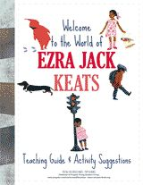 Guide and activity suggestions for teaching books by Ezra Jack Keats. #kidlit