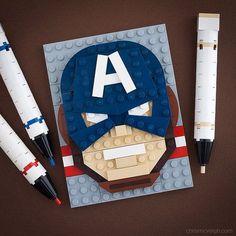 The Winter Captain | by powerpig Chris McVeigh LEGO BrickSketch