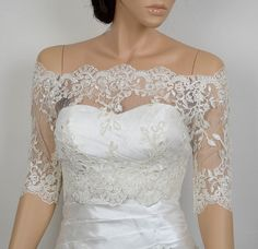 ... bolero on Pinterest | Lace Bolero, Bridal Bolero and Wedding Jacket