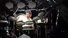 Bill Bruford Drum Solo - Anderson Bruford Wakeman Howe (ABWH) - August 10, 1989 - Wantagh, NY