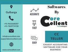 Accounting Software, Technology, Business, Tech, Tecnologia, Store, Business Illustration