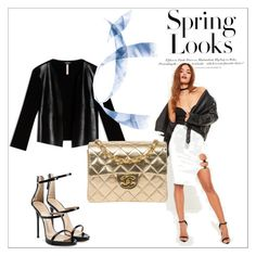 """""""'' Spring Looks ''"""" by aldina-dinka ❤ liked on Polyvore featuring Max&Co., Missguided, Chanel, Giuseppe Zanotti and H&M"""