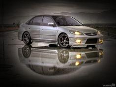 Black Honda Civic, Honda Civic 2005, Beach Bunny Swimwear, Subaru, Cars And Motorcycles, Nissan, Tattoos, Cool Cars, Tatuajes