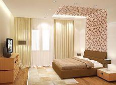 Обои для спальни: выбор, комбинирование, фото