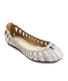 Kensie Gray Milly Cutout Flat | Daily deals for moms, babies and kids
