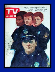 TV Guide Covers 1970s | 1970's TV Guide, The Rookies