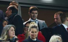 Steven Gerrard has been a regular at Anfield since announcing his retirement