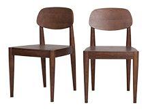 2 x Joseph chaises, frêne foncé