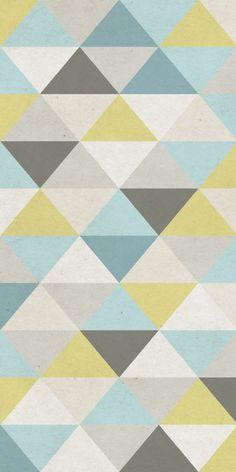 G om trie wallpaper wallpaper fonds d 39 cran pinterest gris r gimes de couleurs de - Papier peint enfant vintage ...