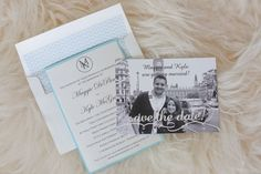 Invitations by Amy McLaughlin Lifestyles. #bostonwedding #bostonweddingplanner #weddinginvitation #AmyMcLaughlinLifestyles #newburyport #wedding