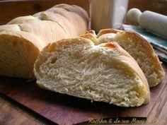 Treccia di pane allolio