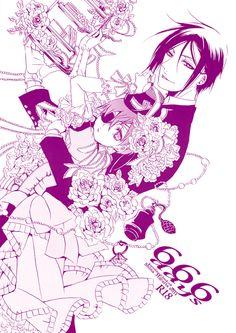 Black Butler- Ciel x Sebastian (Kuroshitsuji) Shina Himetsuka doujinshi