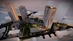 Známe sú prvé podrobnosti o novom projekte nadväzujúcom na komplex Portum medzi Panorama City a Sky Parkom