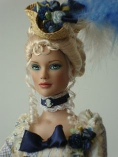 About The Rose of Versailles: A Blue Skies Glinda doll wearing The Rose of Versailles outfit