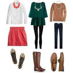 """""""Outfits with statement necklaces"""" by classycathleen on Polyvore"""