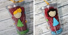 Personalized Teacher Tumblers
