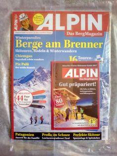 "ALPIN!Berg Magazin! Wanderparadies "" BERGE AM BRENNER "" !Ausgabe: 1/17! NEU !"