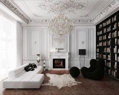 Decoração: Preto e Branco