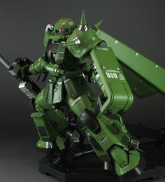 Custom Build: MG 1/100 High Mobility Type Zaku II [Unknown] - Gundam Kits Collection News and Reviews