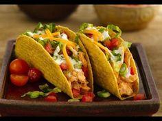 Hühnchen-Ranch-Tacos