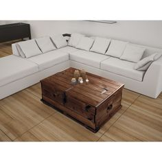 Valencia Coffee Table with Storage | Overstock.com Shopping - The Best Deals on…