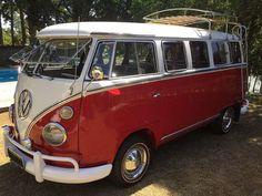 volkswagen t1 rosso - 0
