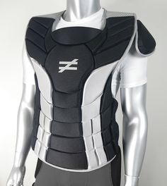 The Unequal Hart® Catcher Chest Protector — $159.95. Made with advanced impact technology proven in a peer-reviewed, published study to be effective in protecting the heart like no other. Features a patented composite of Airilon,™ Accelleron,® Aramid Fabric & Impacshield®. Built-in ventilation keeps athletes cool and dry. Adjustable straps allow for custom fit and shoulder pad is removable. Comes in black/gray design with a silver logo on chest pad.