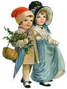 Vintage Christmas Images, Victorian Christmas, Christmas Pictures, Vintage Images, Christmas Printables, Christmas Crafts, Mary Christmas, Montage Photo, Illustrations